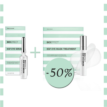 BIOEFFECT EGF EYE SERUM + EGF EYE MASK TREATMENT